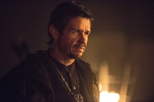 "Arrow -- ""The Climb"" -- Image AR309a_0277b -- Pictured: Matt Nable as Ra's al Ghul -- Photo: Cate Cameron/The CW -- © 2014 The CW Network, LLC. All Rights Reserved."