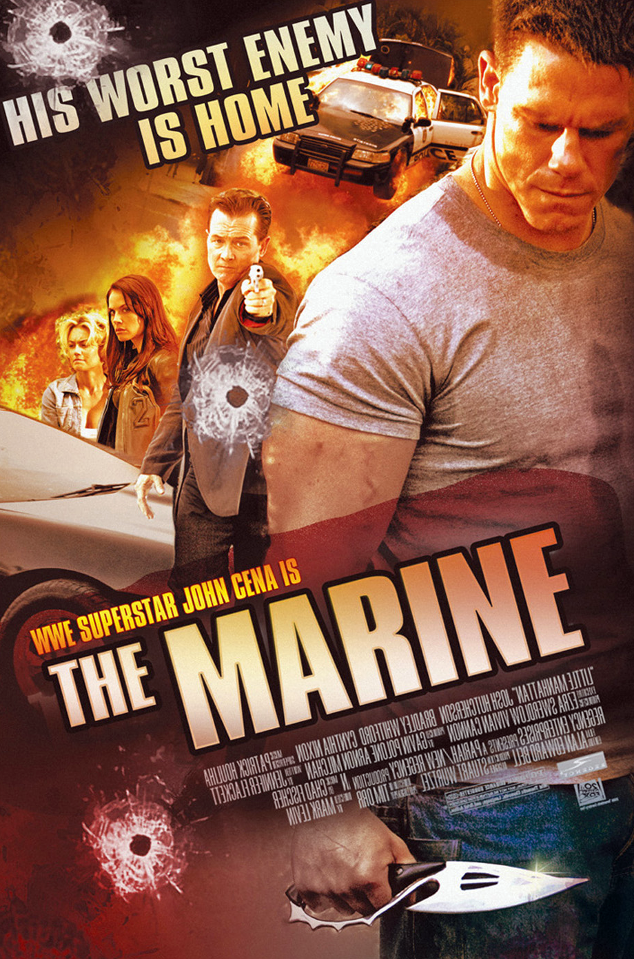mediocre movie review � the marine � stroke of genius