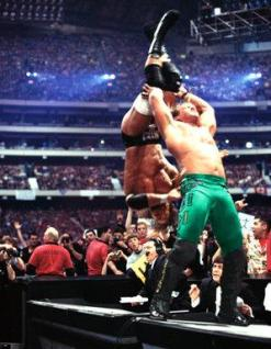 Image result for chris jericho wrestlemania 18