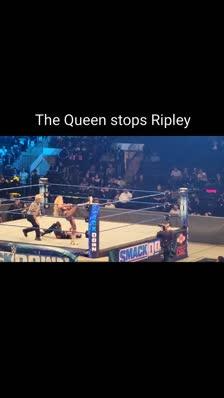 The Queen stops Ripley